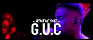 What He says by G.U.C